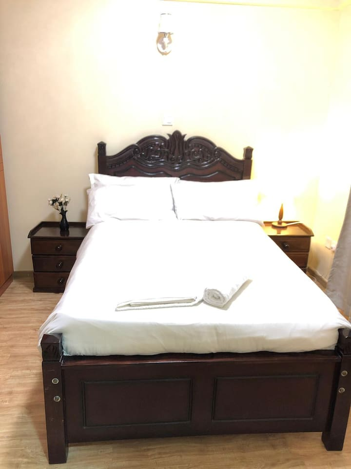 Room B - double bed