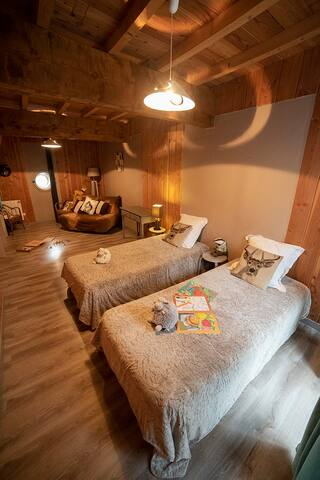 Chambre famille « La grange » Suite 2 chambres