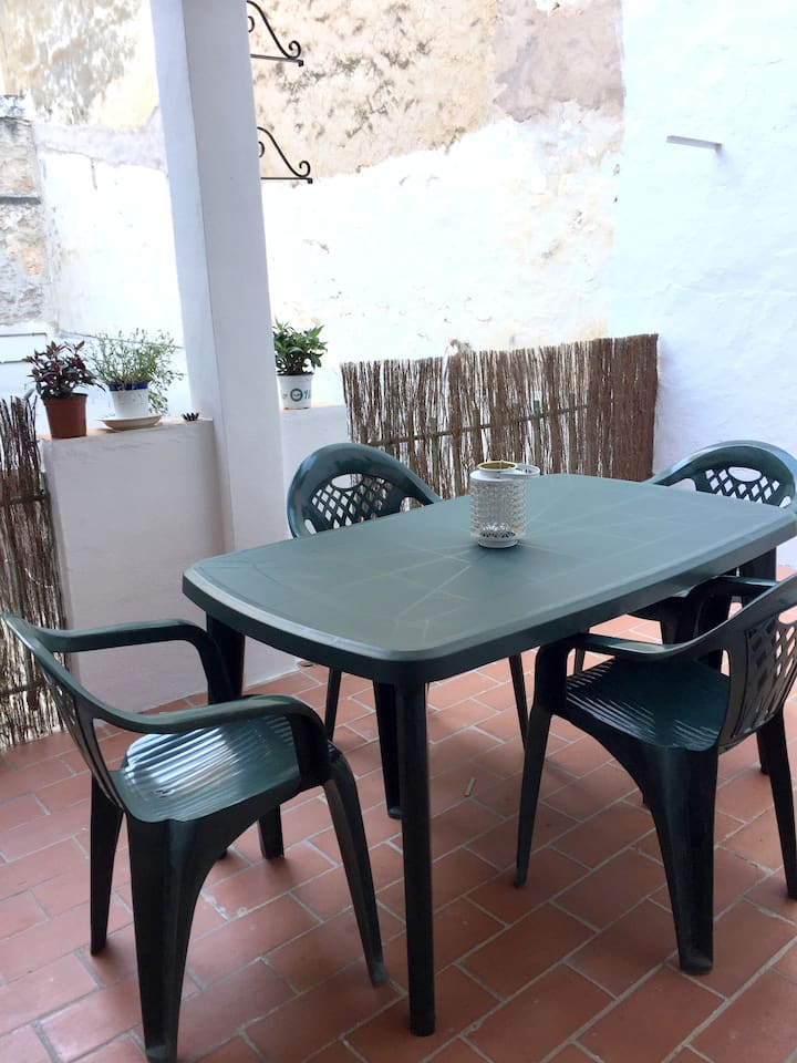 Apartment with 3 bedrooms in Llucmajor, with wonderful city view, furnished terrace and WiFi - 16 km from the beach