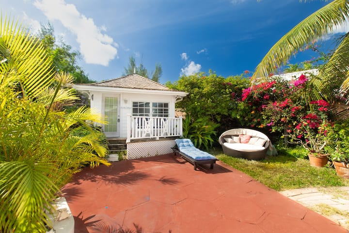 Garden Cottage - 49ft to Ocean - BLUE WATER Beach