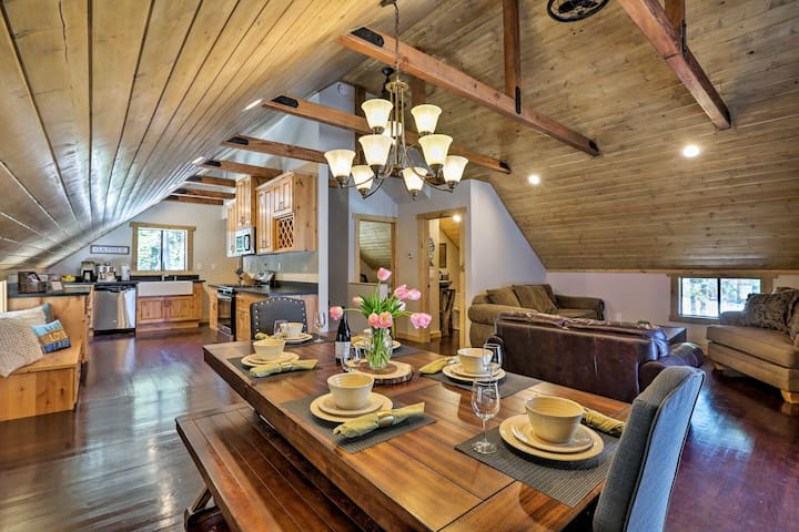 Modern Truckee Family House - Walk to Donner Lake!