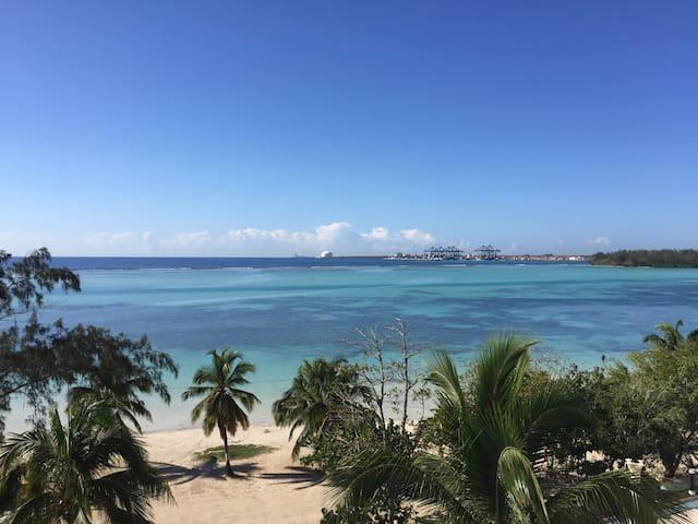 Apt/condo frente a la playa con espectacula vista - Бока-Чика - Квартира