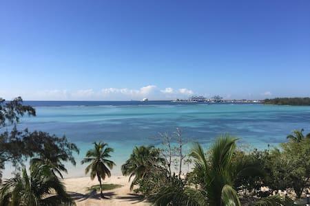 Apt/condo frente a la playa con espectacula vista - Boca Chica - Daire