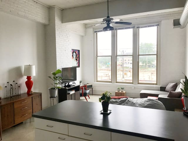Spacious Loft in Ohio City/Hingetown-Free Parking!
