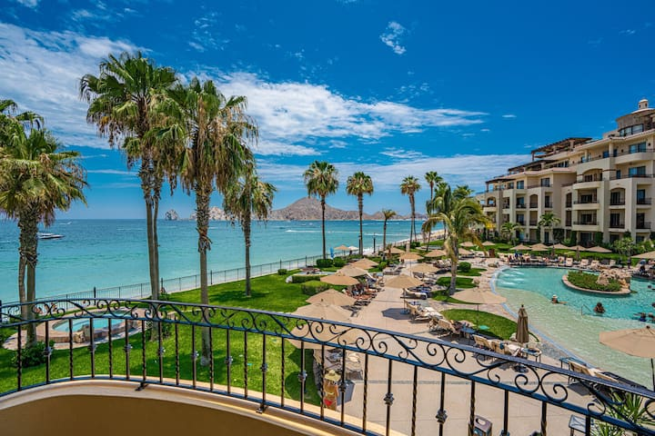 CLOSEST to the BEACH* 2BR OCEANFRONT VILLA on 2nd Floor at Luxury Resort & SPA