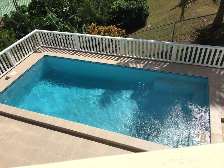Pool - not heated