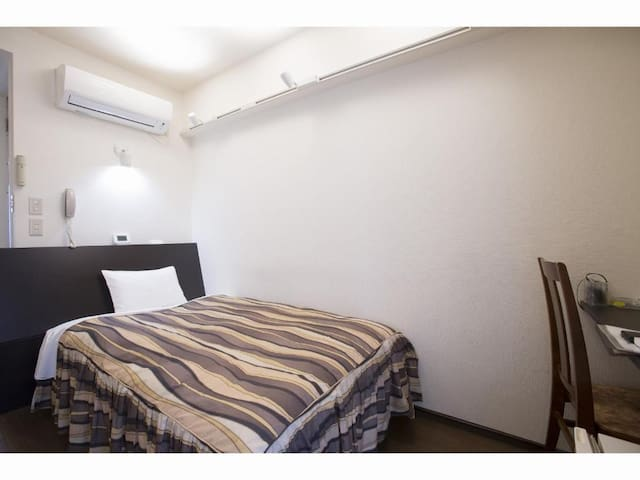 4mins->JRTsurumi Sta/Single room/NoSmoke/Breakfast