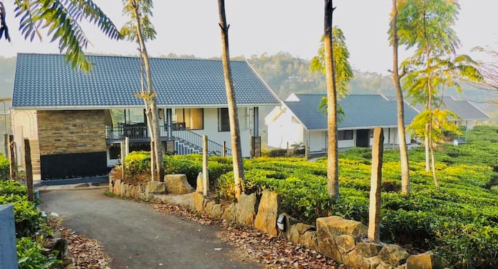 Plantation Cottages within a private Tea Estate.