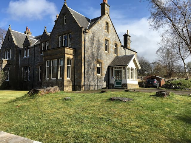 Conval House Double Room - Dufftown - Bed & Breakfast