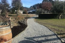 New Pathway to Cellar Door and Cafe
