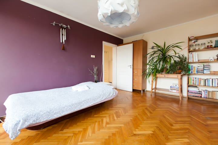Double room with balcony, Old Town - Wrocław - Daire