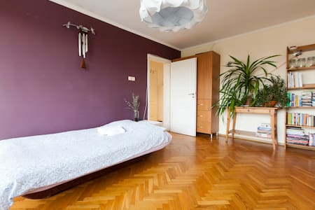Double room with balcony, Old Town - Wrocław