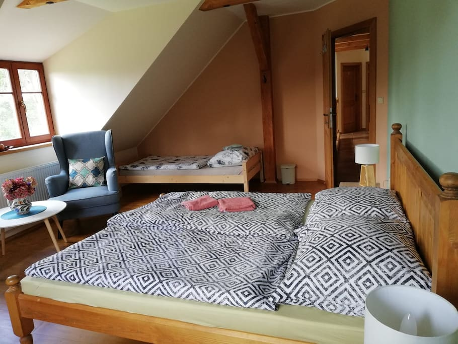 Pokoj pro 2-3 - room for 2-3 people