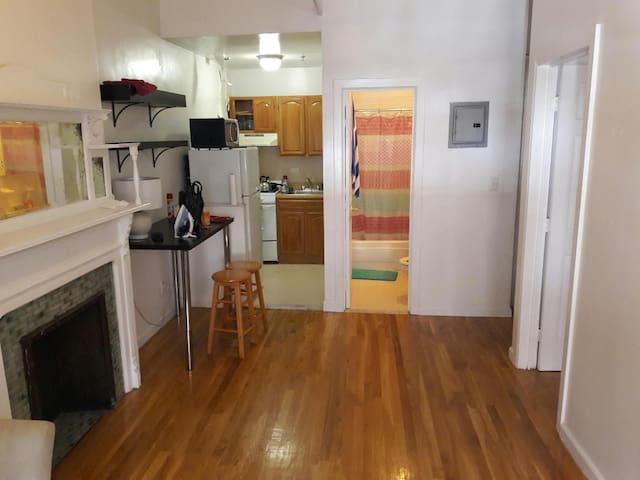 Sunny Manhattan 1 bedroom  in Landmark Brownstone