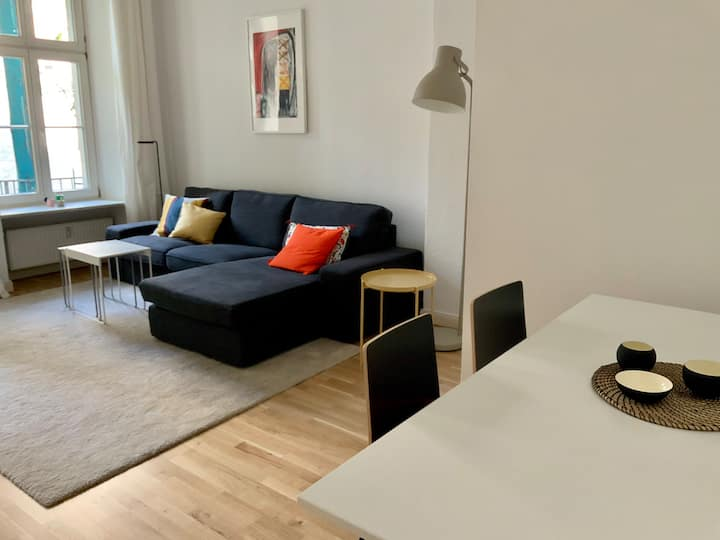 Bright, spacious apartment in Berlin-Schöneberg