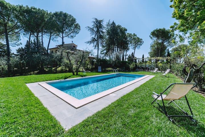 Amazing villa in Cetona