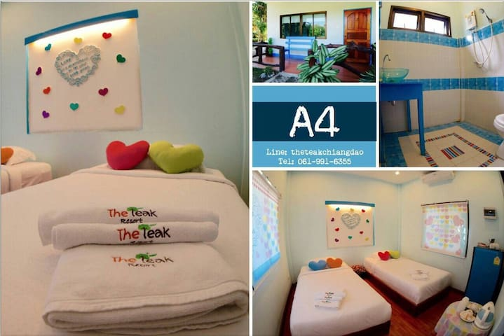 A4 @ The Teak Resort - Chiang Dao - Hus