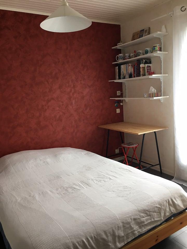Chambres dans maison individuelle