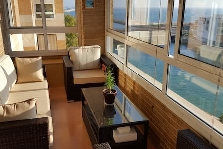 Hermosas habitaciones en un piso cerca de la playa - Flat