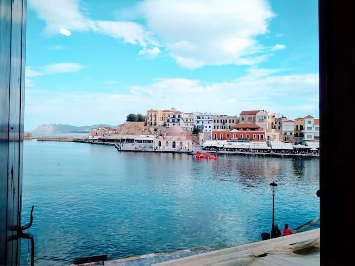 Venezia Studio! Amazing Chania Old Harbor's View!!