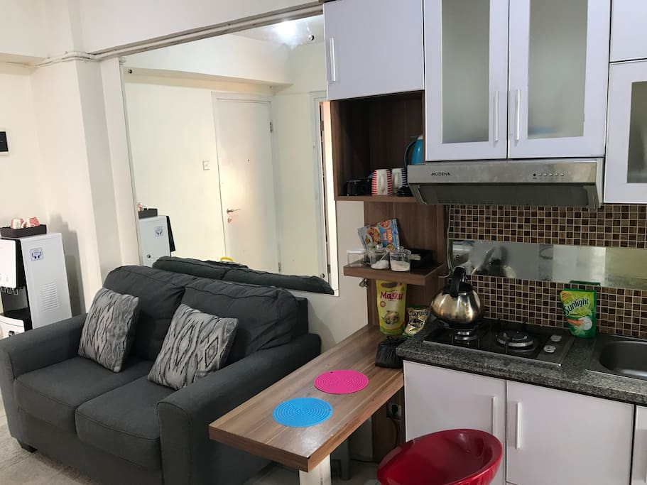 Main Room and kitchen