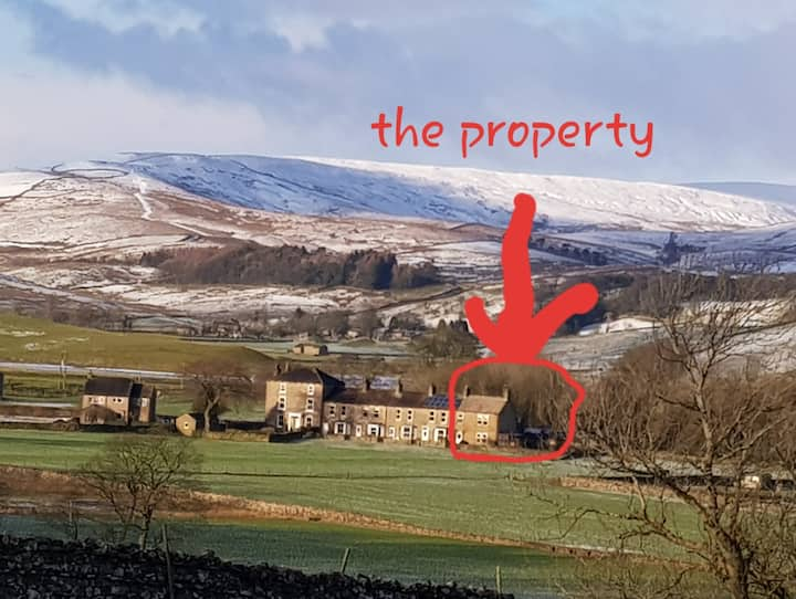 Hawes, Yorkshire Dales, garden, great views!