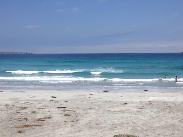 Cabaña con playa casi privada - Punta de Choros - บ้าน