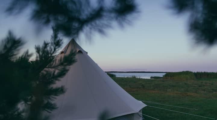 Luksuslik telk mereääres/Luxurious Tent by the Sea