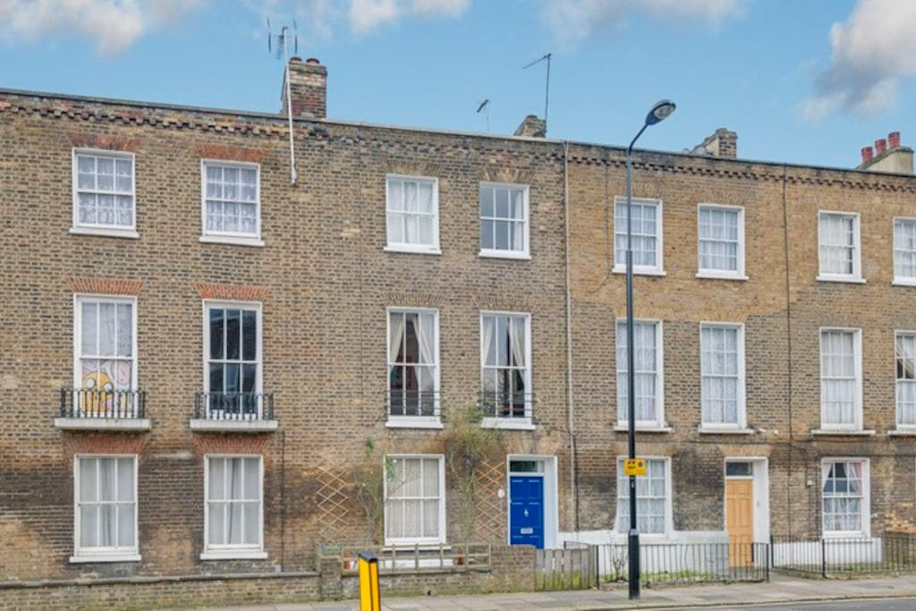 The flat comprises the upper two floors of a Victorian house in a quiet, no-through road.