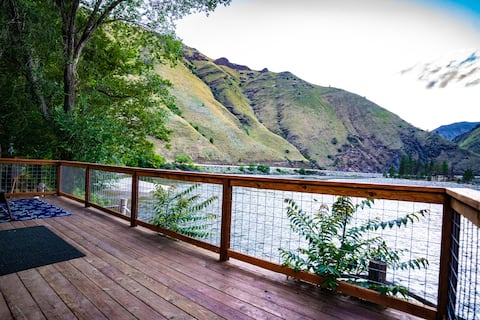 Cabin on the Salmon River