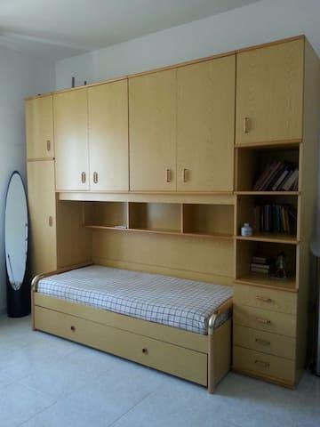 Appartamento Trilocale Siponto 100 metri dal mare - Manfredonia - Leilighet