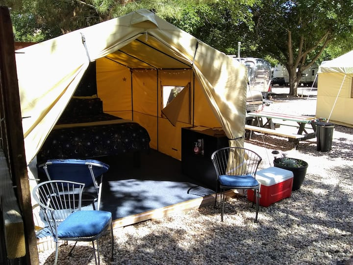 Glamping Tents @ Zion West