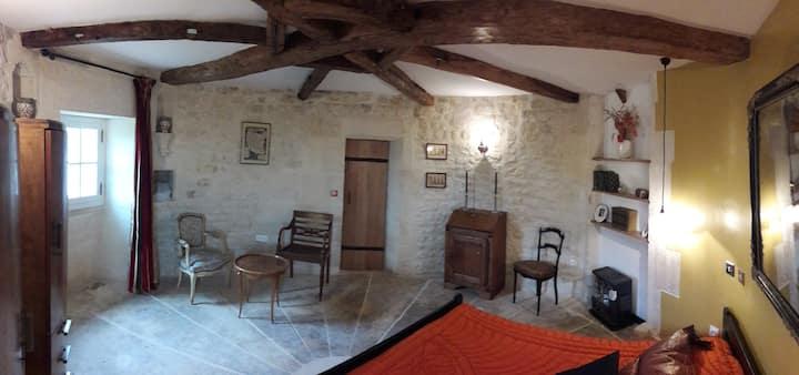 Chambre de la tour du château