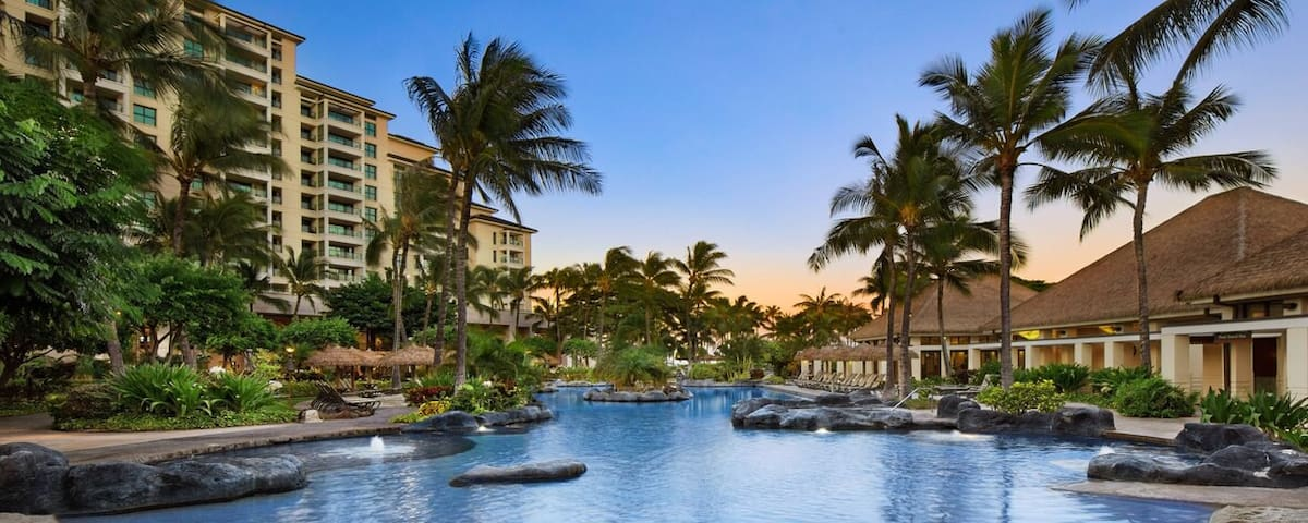 Marriott Beach Club Ko Olina - April 11 - 18, 2bdm