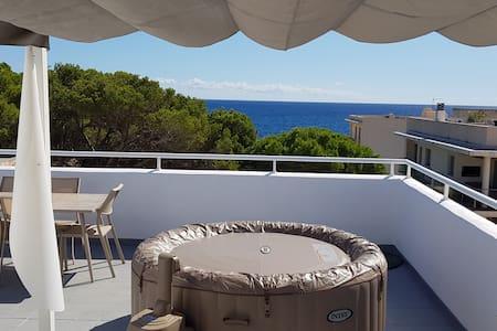 Sonne & Meerblick im Whirlpool bei 40°C genießen?