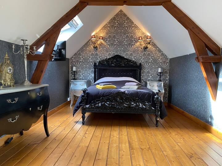 Maison chaleureuse avec terrasse