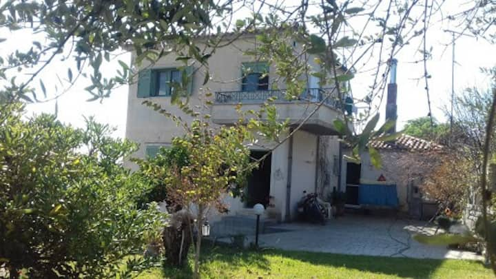 villa  on the Hill near ancient olympia zacharo