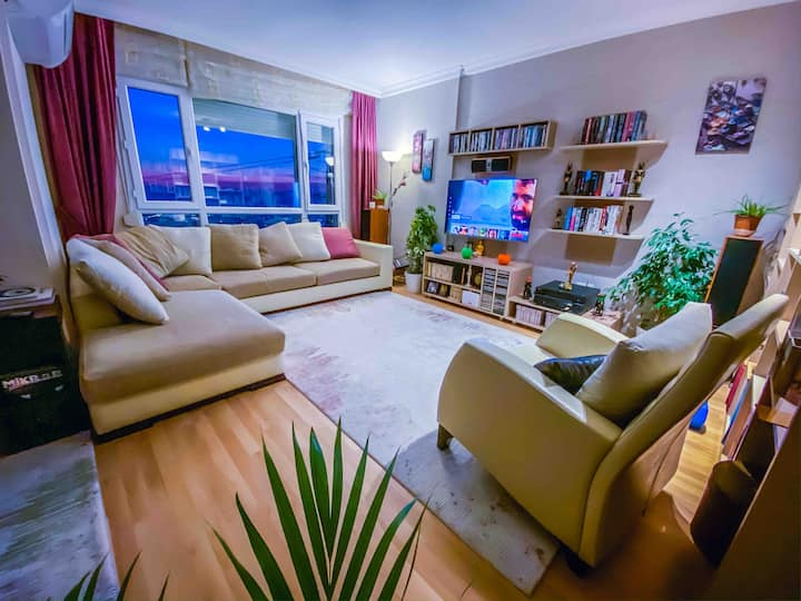 Awesome Sea View Stylish Flat