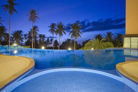 1 Bedroom Apartments 60 m ,King size bed,pool,Gym - Ko Samui