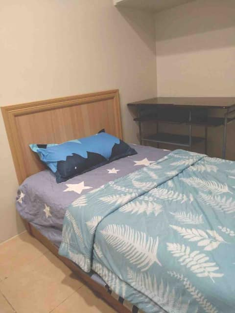 Single comfortable suite beside Shin-Takeyoshi (double room can be asked separately