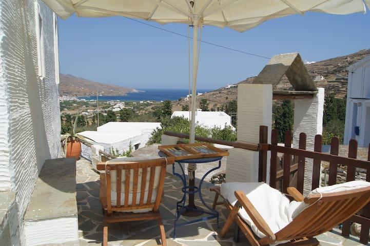 Traditional Cycladic-style island Stone house