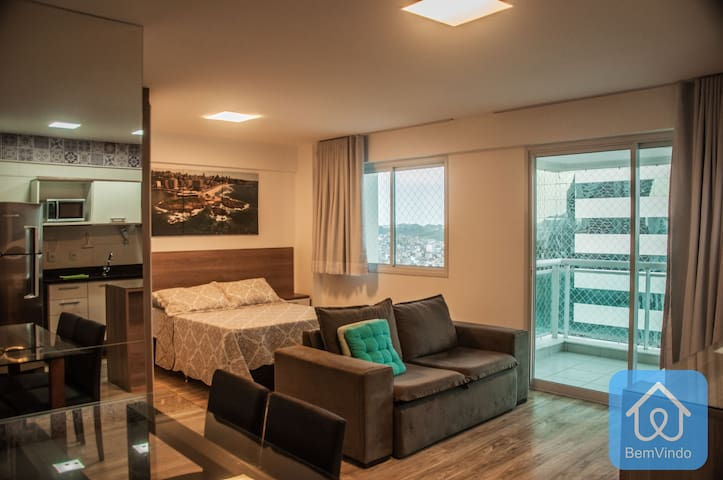 Apartamento completo e luxuoso - Ao Lado do Salvador Shopping 2