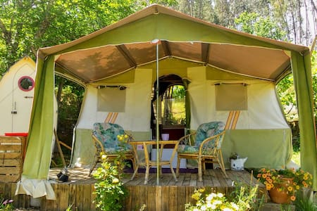 Vintage Folding Camper RIVER VIEWS & eco living