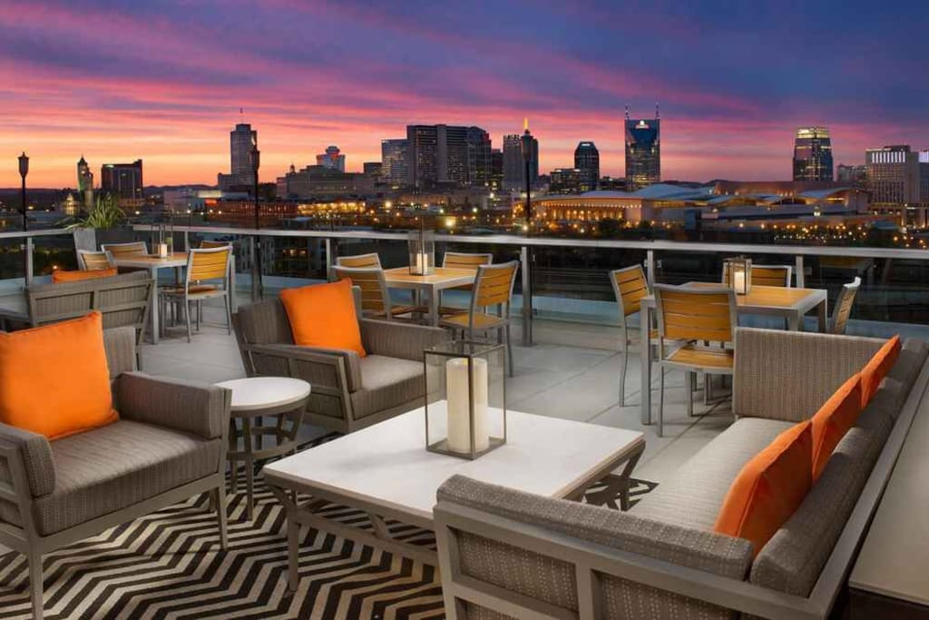 Amazing rooftops restaurants in the near by area! uprooftoplounge.com