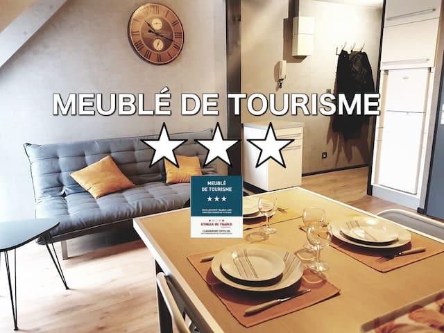 lorient centre meubl de tourisme 3 parking appartements en r sidence louer lorient. Black Bedroom Furniture Sets. Home Design Ideas