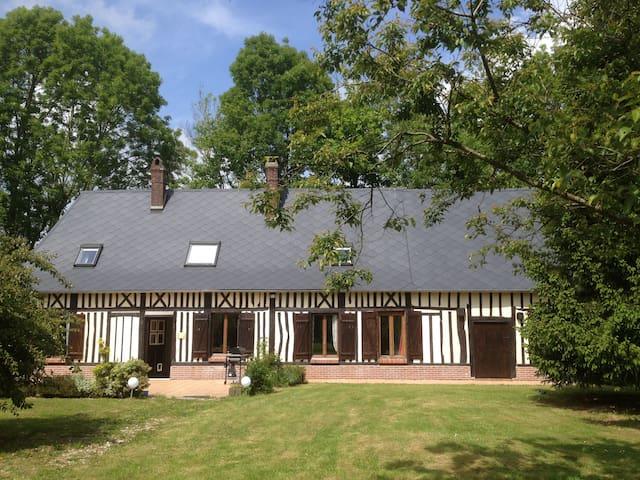 Week-ends et vacances en Normandie - Grémonville - บ้าน
