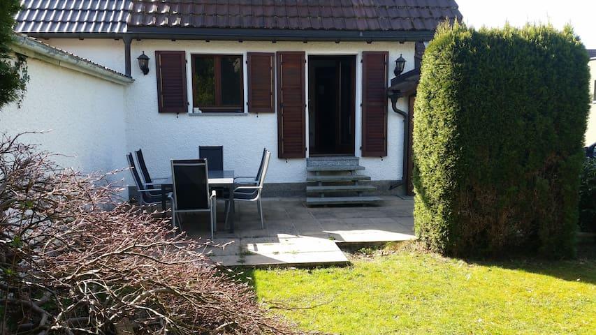 Gemütliches Zimmer nahe Bodensee mit Garten