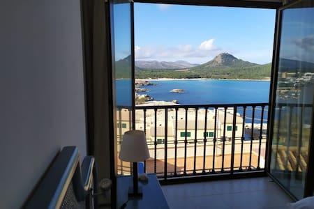 Apartamento con vista al Mar en Primera Línea