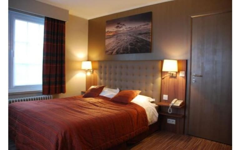 Superior double room on the ground floor
