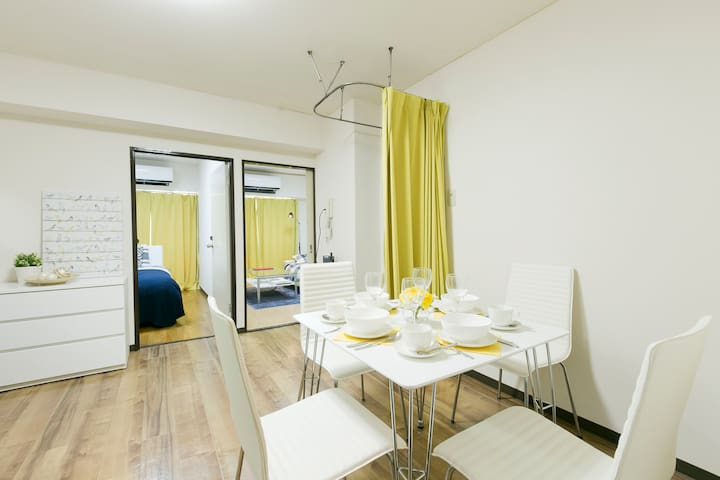 #4FL, 5 people apartment in Shinkoiwa - Katsushika-ku